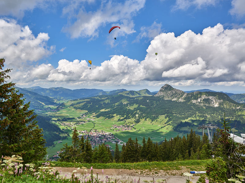 Tannheimer Tal Karte.Gastekarte Tannheimer Tal Pension Austria In Tannheim